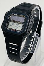 Casio AL-190W Classic Batteryle Solar Powered Watch - NEEDS CAPACITOR - READ