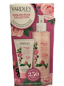 Yardley English Rose Collection Handwash 250 ml and Hand Cream 50ml Gift Set