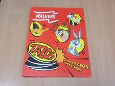 Walkers Tazos Collector Album Folder 1-50 Complete PepsiCo Crisps Good Condition