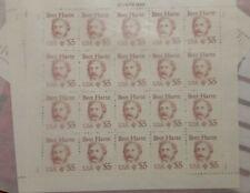 US Scott # 2196 Bret Harte Great American Sheet MNH Stamps