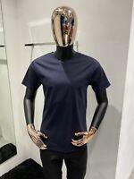 LORO PIANA Navy T-Shirt Size 52 / L (100% Authentic & New)