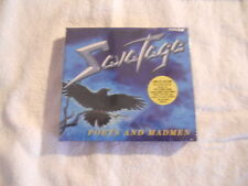 "Savatage ""Poets and madmen"" 2001 cd Limited Box W/ Bonus & Poster New Sealed"