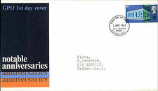 Ersttagsbrief FDC First Day Cover 1967 Briefmarke Stamp Stempel Cancel Edinburgh