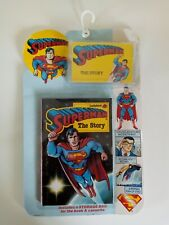 Superman The Story 1989 Ladybird Book and Cassette 1989 SEALED - VERY RARE!