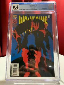 Wolverine #88 CGC 9.4, First battle of Wolverine vs Deadpool! 1994 Marvel Comics