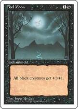 BAD MOON Fourth Edition MTG Black Enchantment RARE