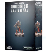 Sister Superior Amalia Novena a miniature from Games Workshop