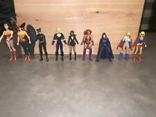 """DC Universe Infinite Heroes Crisis Lot of 9 MARY BATSON 3.75"""" Action Figures"""
