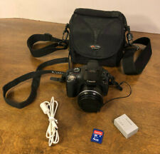 Canon PowerShot SX30 IS 14.1MP Digital Camera - Black with Lowepro Bag