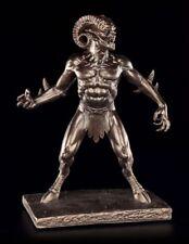Teufel Figur - Satyr - Fantasy Gothic Dämon Bronziert