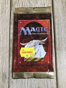 Magic The Gathering 4th Edition Booster Pack Sleeve