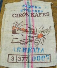 "Burlap Coffee Bean Sack Bag Gunny Crafts, Decoration.Croaker Sack  28"" x 36"""