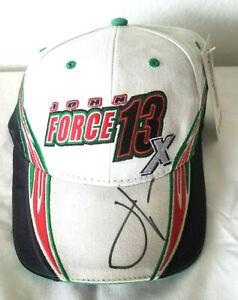 John Force Autograph Signed Signature Racing Hat Cap NHRA Drag Race Champion New