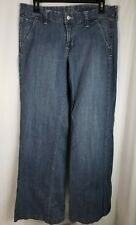 Old Navy Jeans Womens Sz 10 Regular Low RIse The flirt Flare (ABC3)