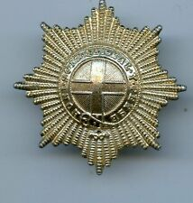 The Coldstream Guards Anodised  Cap Badge