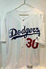 Authentic Majestic Flex Base LA Dodgers Dave Roberts Home Jersey-48 (XL)