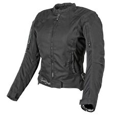 NOS SPEED AND STRENGTH 877824 HEART AND SOUL JACKET BLACK SILVER SIZE WOMENS SM