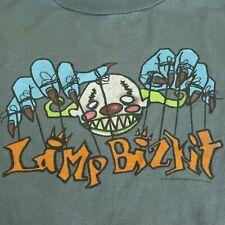 Vintage 1997 Limp Bizkit Puppeteer Scary Clown Giant Nu Metal Durst Rap Rock Med