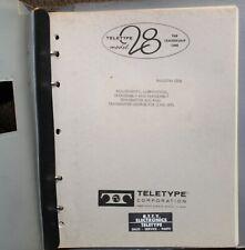 Teletype Model 28 Td (Lxd) Bulletin 235B -Adjustments, Lubrication