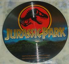 JURASSIC PARK (John Williams) rare original new stereo lp (1993) picture disc