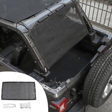 Rear Trunk Sunshade Cover Net Mesh Bikini For 4 Door Jeep Wrangler Tj Jk Jku Jl Fits 1997 Jeep Wrangler