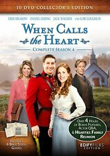 When Calls the Heart: Complete Season 4 (10-DVD Collector's Edition) New