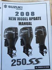 2008 Suzuki Marine New Model Update Seminar Manual 99954-51208