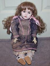 "K & R Kammer & Reinhardt Bisque Head Doll 20"" Artist Signed Reproduction"