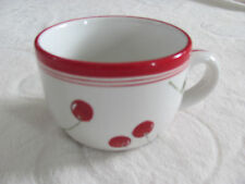 Home - Red Cherry Pattern Goes with Cherry Orchard-Cherries-Jumbo Mug(s)-4 Avail