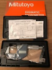 MITUTOYO MICROMETER DIGITAL 0-25MM - 293-821-30