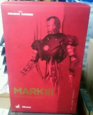 HOT TOYS SIDESHOW 1/6 IRON MAN MARK 3 III DIECAST CONSTRUCTION VERSION DIORAMA