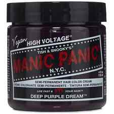 Manic Panic Semi-Permament Hair Color Creme, Deep Purple Dream 4 oz