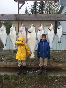 Alaska Halibut Charter, lodging, Salmon fishing trip and more