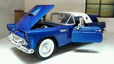 G LGB 1:24 Scale 1956 Ford Thunderbird Convertible Diecast Model Car 73215 blue