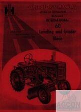 International Harvester Farmall 60 Leveling Grader Blade Operators Manual A 100
