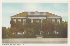 Court House RED DEER Alberta Canada 1930-40s PECO Postcard 13