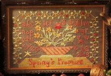 """EP Blackbird Designs """"Spring's Promise"""" Counted Cross Stitch Pattern"""