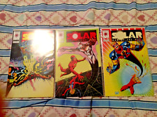 Lot of 3 Solar Man of the Atom # 23, July 1993  #19, Mar 1993  #17, Jan 1993 NM