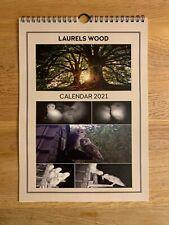 Laurels Wood Calendar For 2021 (A4 Size)
