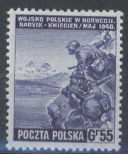 "3) Polnische Exil Regirung in London "" Poln.Soldaten in Narvik "" Mi.371 (5867)"