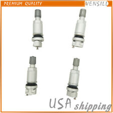 4X Tire Pressure Sensor Valve Stem Repair Kit For Chrysler Dodge Jeep Land Rover