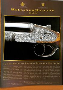 Original Vintage 'Holand&Holand' Advertisement from Gamewise Magazine 2006