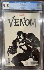Venom #1 CGC 9.8 McFarlane sketch ❄️WHITE pages❄️ RARE! Spider-Man 🕷