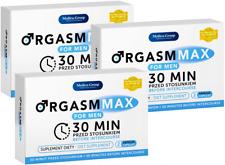 ORGASM MAX FOR MEN 6 Kapseln Sex Drive Pills for Men Male Potenz Erection