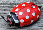 Antique Gama Ladybug Tin Toy Western Germany Wind-up Works 100% Orig. Super Cute