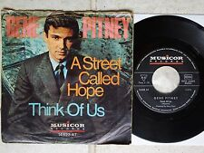 """Gene Pitney – A Street Called Hope 7"""" Musicor Records 14 623 AT Rare German PS"""