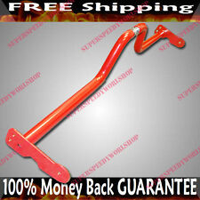 RED UNIVERSAL Chassi Bar Tower Bar Brace Adj. Length fits Nissan 240SX S13 S14