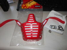NOS Answer Red Mouth Rock Guard Mask Vintage EVO AHRMA VMX BMX