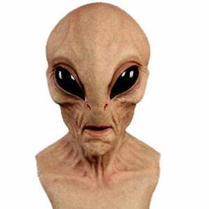 Bizarre Horrific Scary Alien Adult Mask Latex Head for Halloween Cosplay Costume