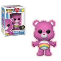 Funko Care Bears Cheer Bear Pop Chase #351 GITD w/Protector